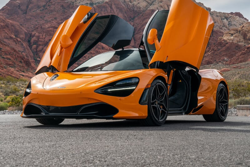 McLaren rental in Beverly Hill