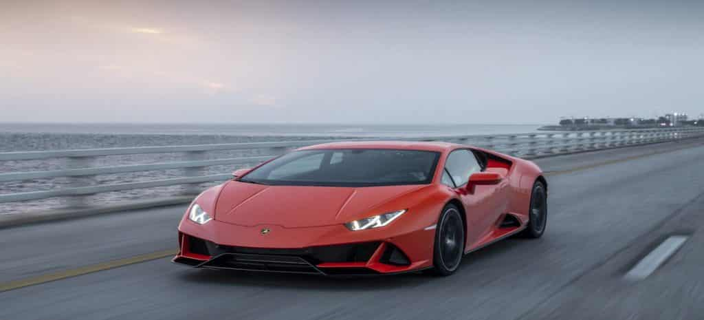 Lamborghini hire for music videos