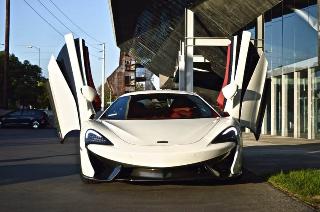 McLaren 570s rental for video shooting