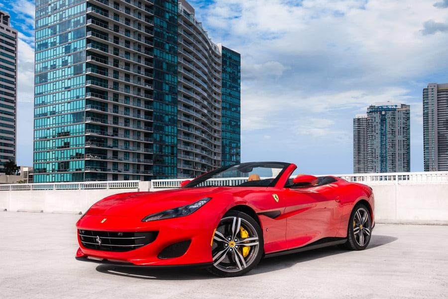 Ferrari rental for video production
