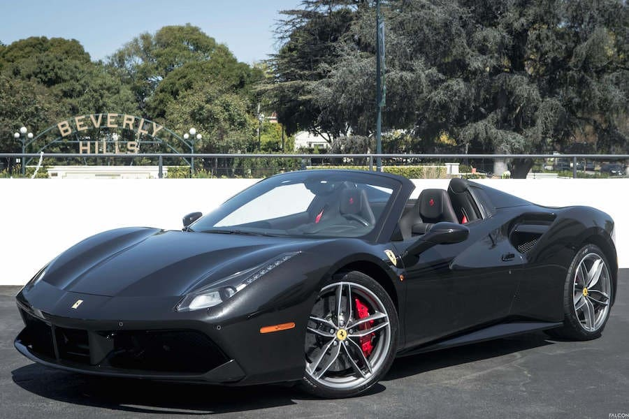 Ferrari hire in Los Angeles