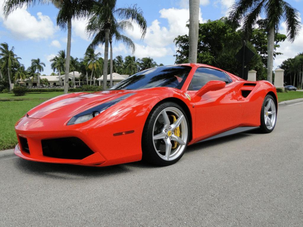 Ferrari hire in Los Angeles