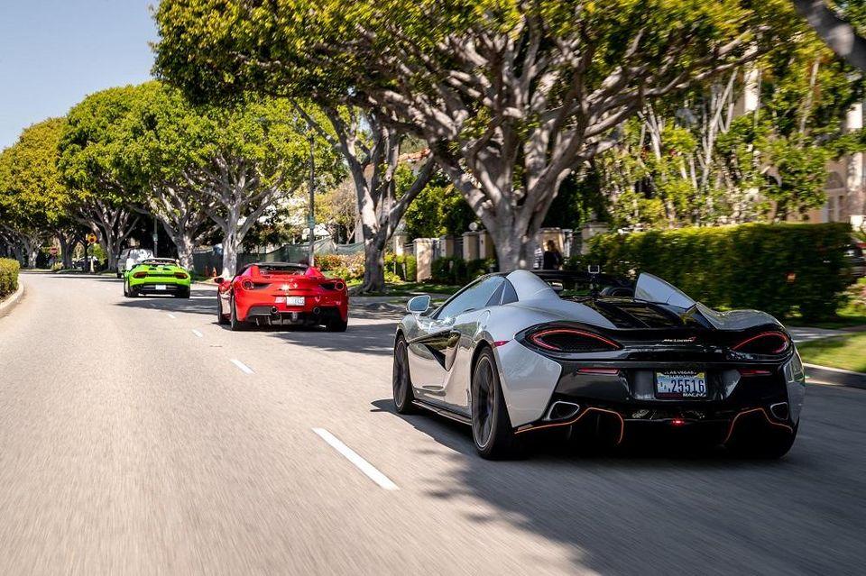 Hollywood McLaren rental